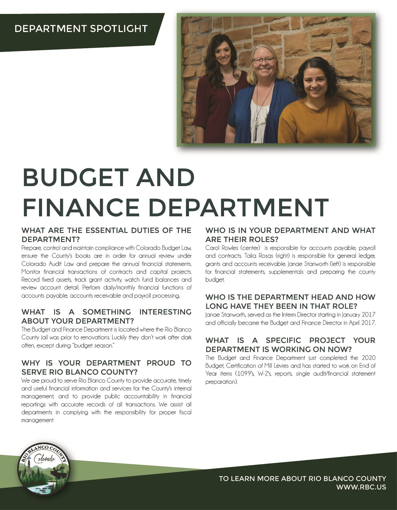 Department Update_Budget and Finance 123119-01